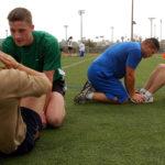 Bent Knee Sit Ups Kho Kho training