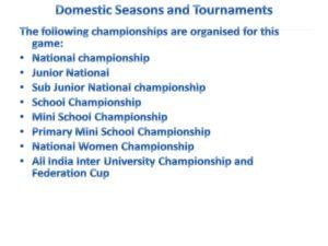 Kho Kho Tournaments